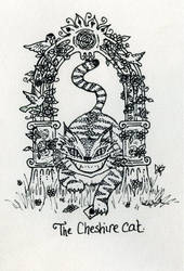 Cheshire Cat by kaboushka