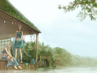 cg115 Water Temple by anikakinka