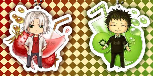 Gokudera and Yamamoto Drinks by anikakinka