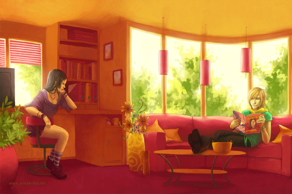 Summer Room by anikakinka