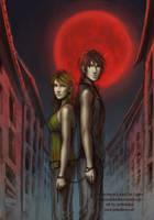 Noches de luna roja by anikakinka