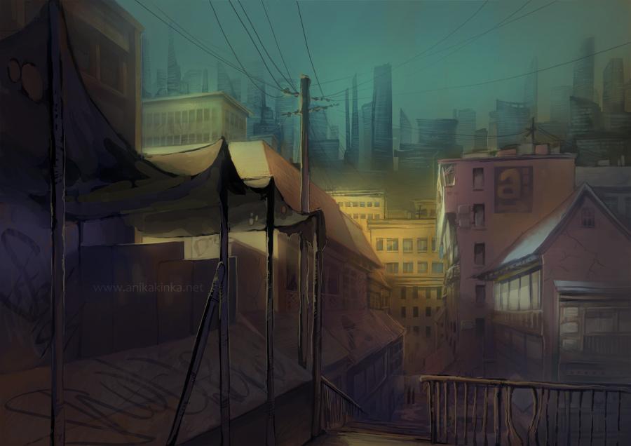 City concept by anikakinka