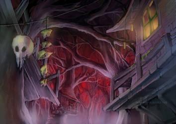 Witch Forest concept by anikakinka
