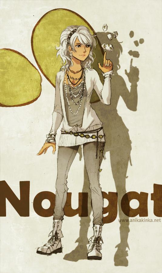 Nougat by anikakinka