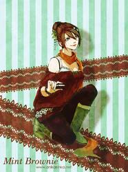Mint Brownie by anikakinka