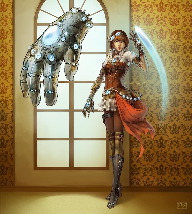 character design: Runika by anikakinka