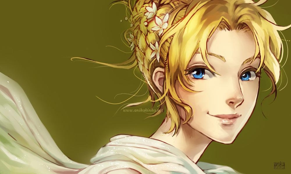 French Braid Crowned Prissie by anikakinka