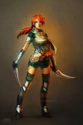 character design: Kasia by anikakinka