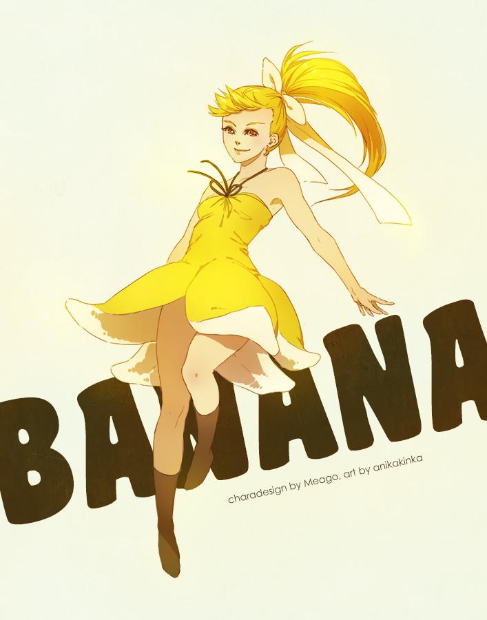 Banana Girl by anikakinka