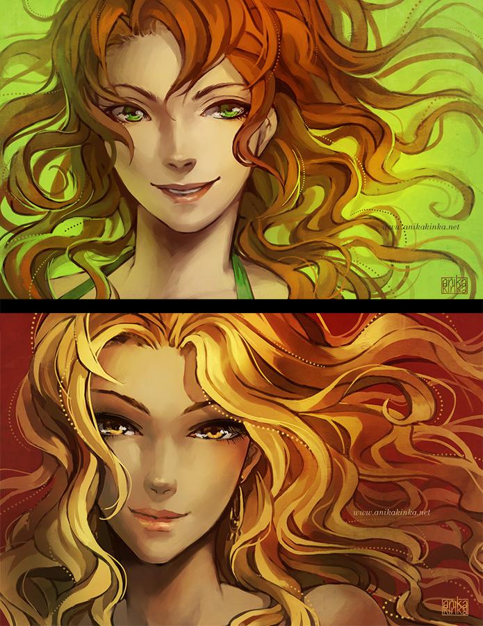 Lena and Vera by anikakinka