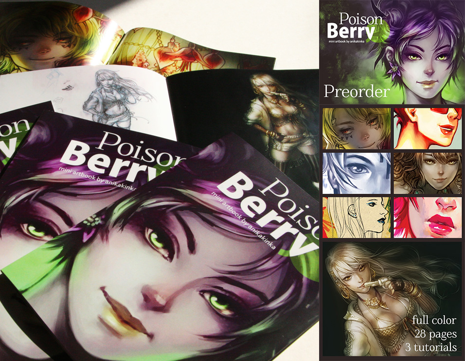PoisonBerry Artbook Preorder by anikakinka