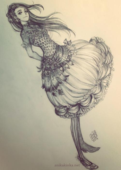 Bell Dress by anikakinka