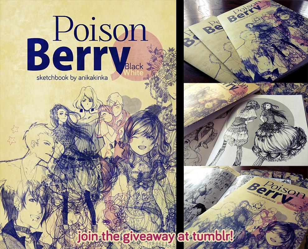 PoisonBerryBW by anikakinka
