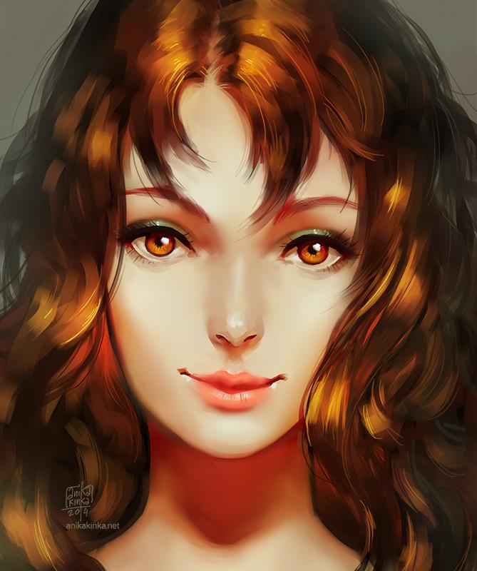 Czekolada Portrait by anikakinka