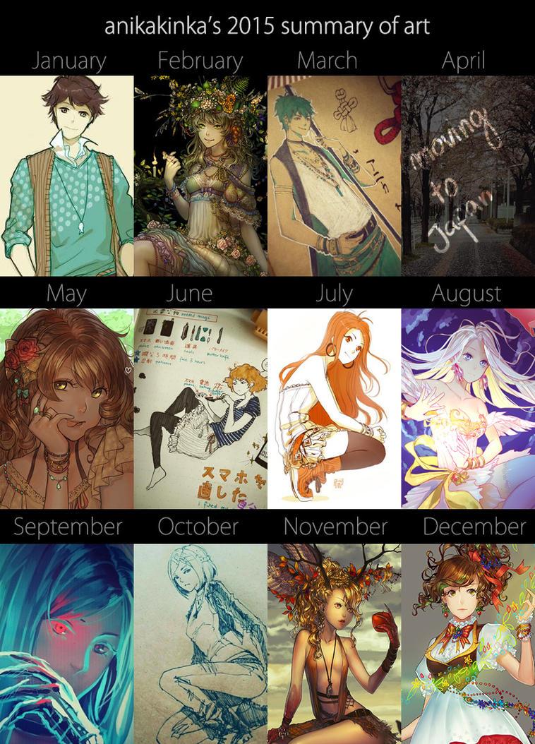 summary of art 2015 by anikakinka