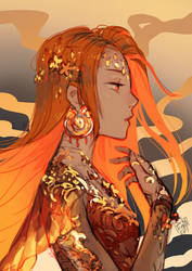 In the Name of Fire by anikakinka