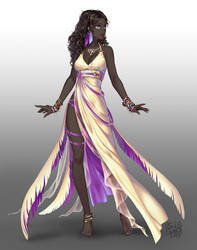 Sol-ya character design