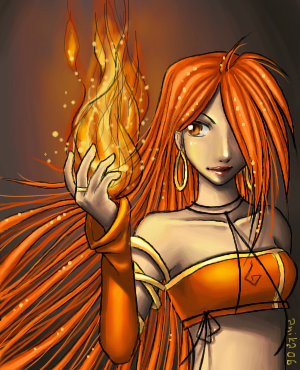 Flame - The Envoys by anikakinka