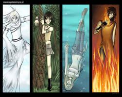 Four Elements - The Envoys by anikakinka