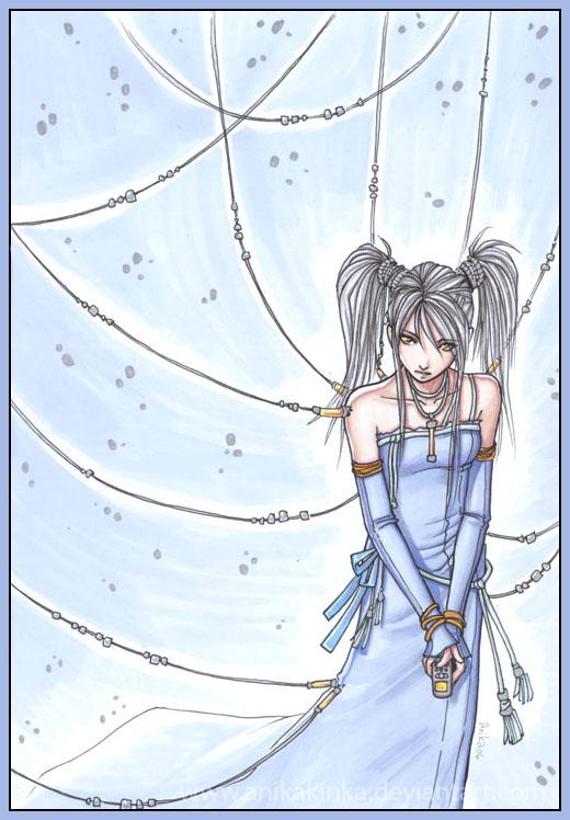 t018 Blue Silver by anikakinka