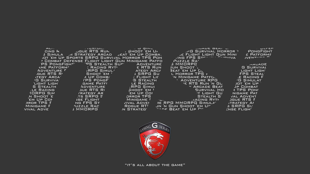 MSI Wallpaper Contest by alfonbena20 on