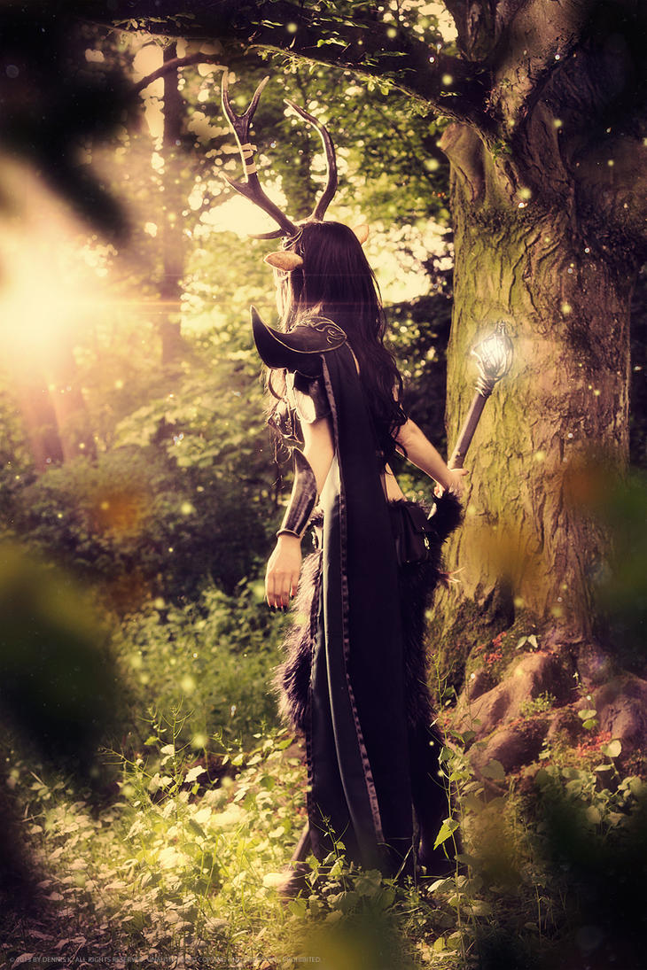Faun cosplay -  deep in the magic forest by emilyrosa
