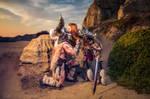 Barbarian Couple - Cosplay - Diablo 3
