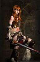 Barbarian Female Diablo 3 Cosplay by emilyrosa