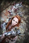 Female Barbarian Cosplay Diablo 3