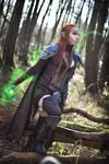 The Elder Scrolls Online elven cosplay