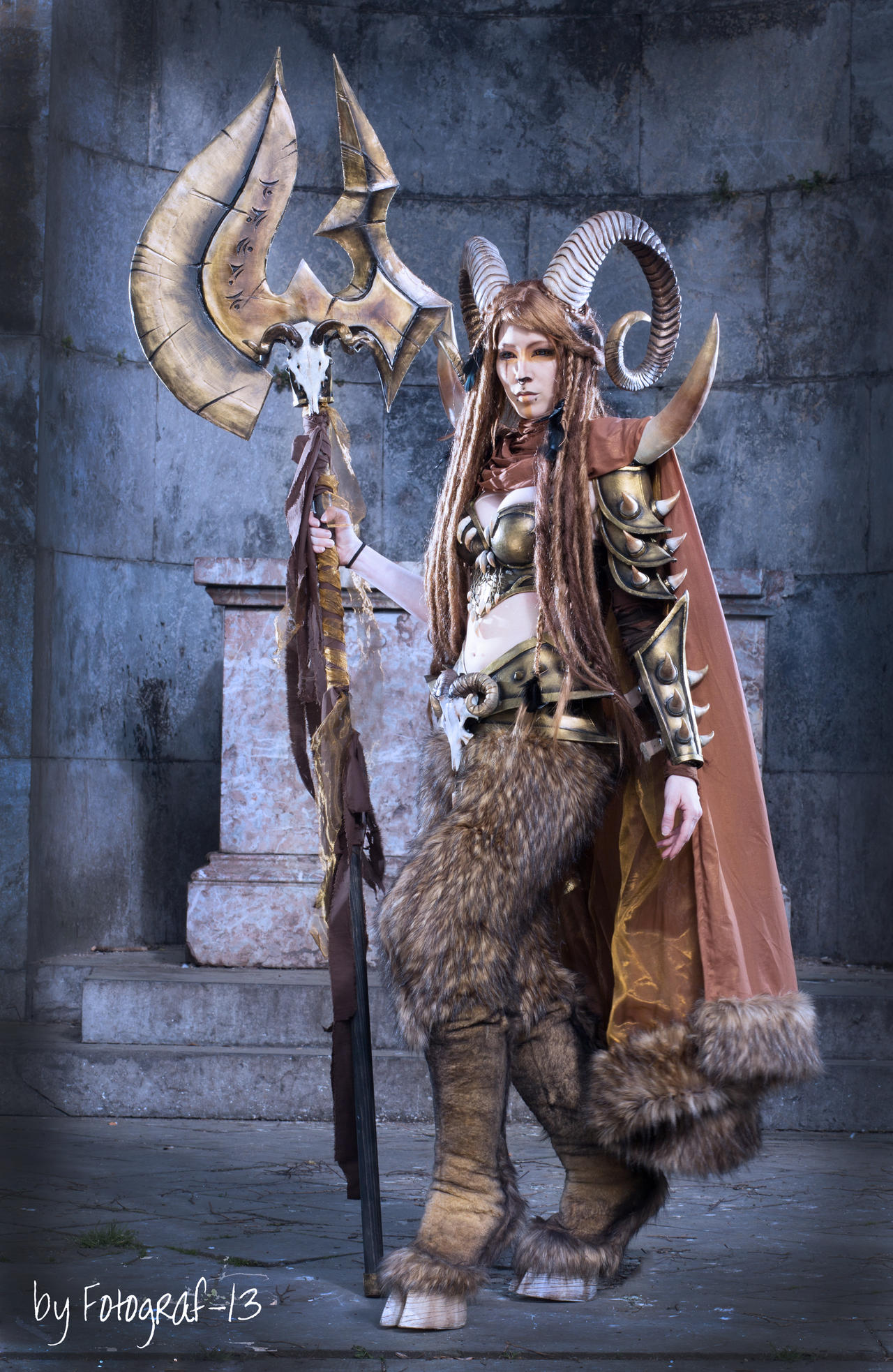 Faun Armor by Aradoz on DeviantArt |Faun Cosplay