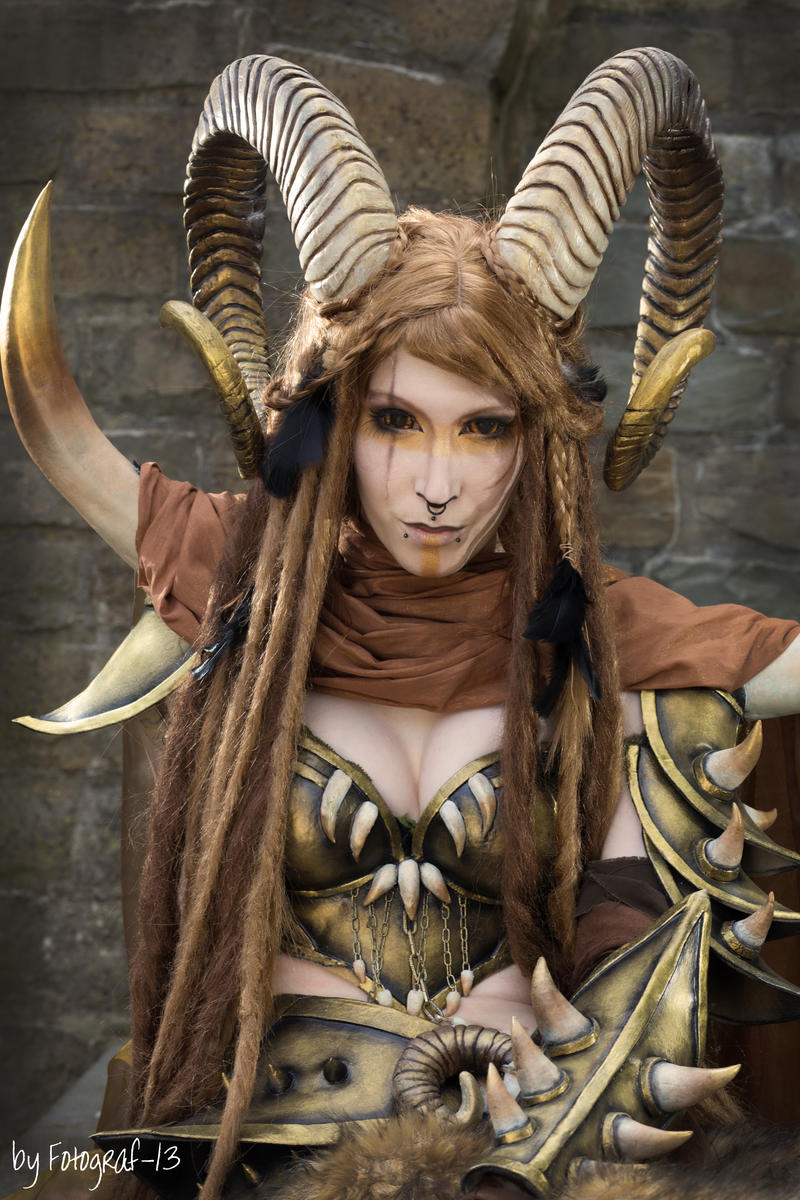 Warrior Faun by emilyrosa