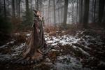Maleficent Cosplay - Winter Photoshoot
