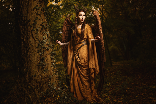 Maleficent with Wings - Cosplay