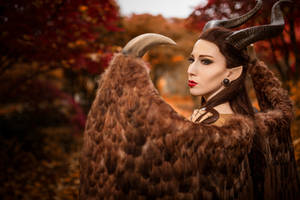 Maleficent Cosplay  - Close Up by emilyrosa