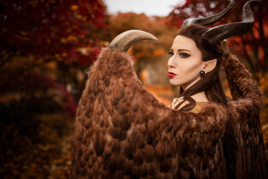Maleficent Cosplay  - Close Up