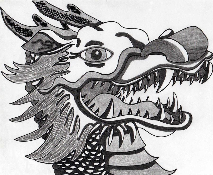 Eastern Dragon by SwirlyEyesHypnotize