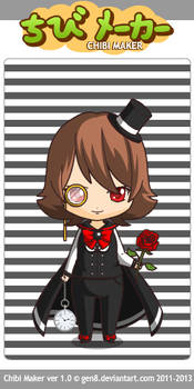 Mistress of Hypnosis Chibi Form