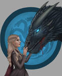 Dany And Viserion