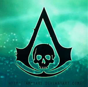 AC4 skull logo green