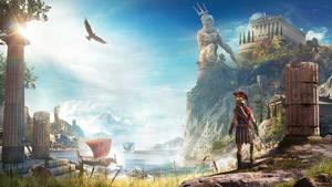 Assassin's Creed Odyssey Kassandra Wallpaper
