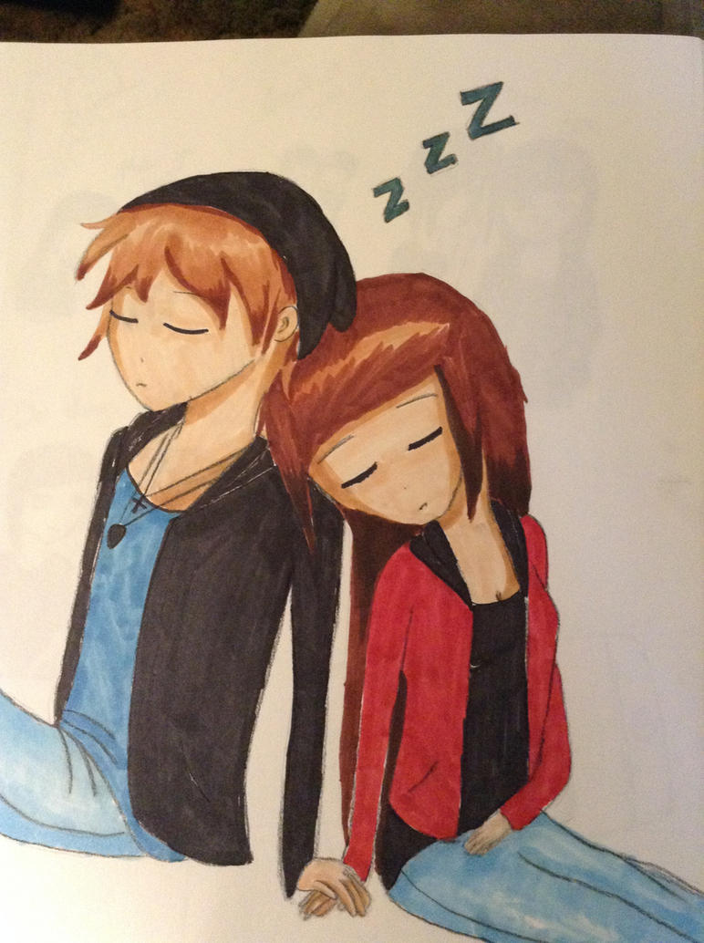Sleeping Couple by xxRestrictedAccessxx