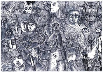 Chaotic impromptu by Khelian-Elfinde