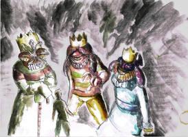The crowned three by Khelian-Elfinde