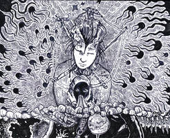 Mother of dream by Khelian-Elfinde