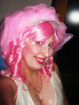 Frosting Hat Wig and Makeup
