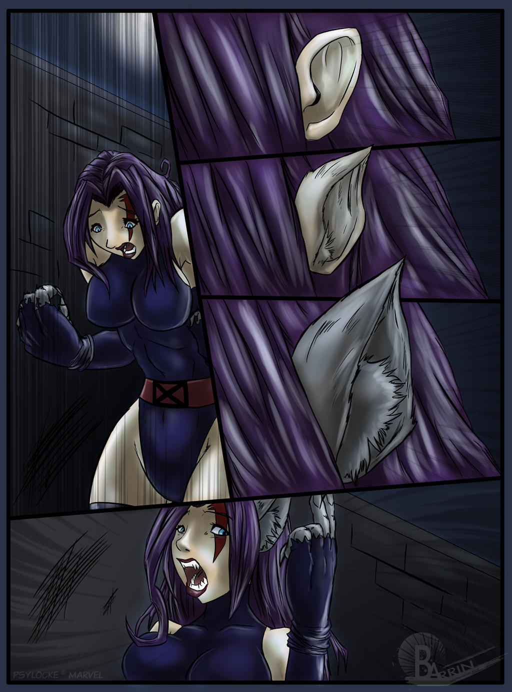 Female werewolf anime hentia galleries