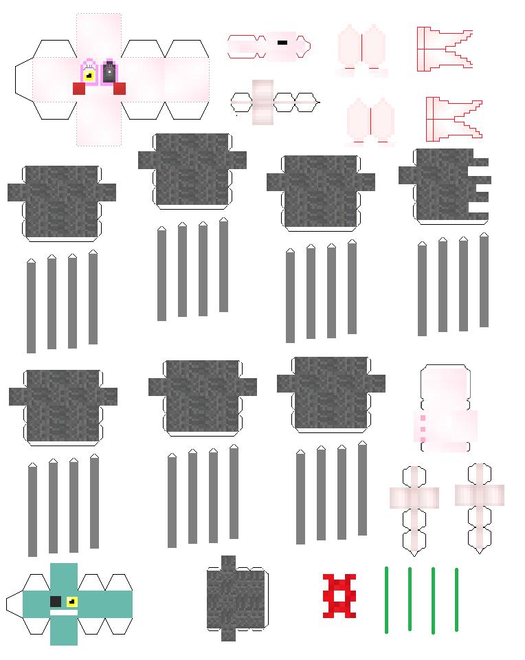 Rockstar Foxy Papercraft - 0425