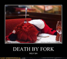 Death by fork? by MitsuniChan