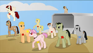 My Legacy Ponies: Friendship Is Magic